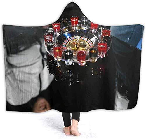 Bernice Winifred Sudadera con capucha | Hooded Robe Physics Formula Spa, sin costuras, de forro polar, para hombre y mujer, 100 x 130 cm, 150 x 200 cm
