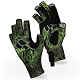 KEY FEATURES – UPF 50 UV protection for your hands – Breathable poly-spandex material – Re-enforced wear points – Integrated pull tabs – Prym1 Hunting colors UPF 50 PROTECTION – The KastKing Sol Armis Sun Protection Gloves is designed by our team of ...