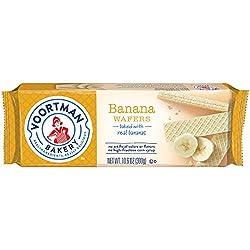 Voortman Bakery Banana Wafers, 30 Count