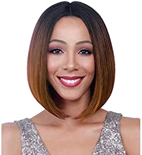 Ombre Colorful Short Bob wigs 13