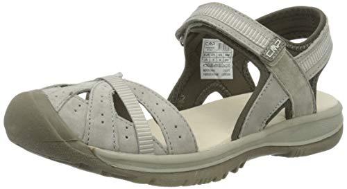 CMP – F.lli Campagnolo Hezie Wmn Hiking Sandal, Sandalias de Senderismo Mujer, Gris Corda P753, 41 EU