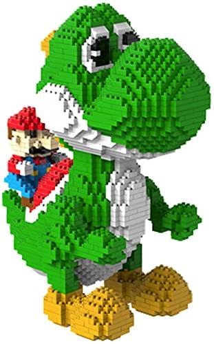 Modelo De Bloque De Construcción De Dinosaurio Mario, Rompecabezas De Bloque De Construcción Nano Mini 3D, Modelo De Juguete De Bricolaje Mini Bloque De Construcción, Bloque De Construcción Educativo