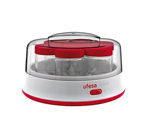 Ufesa Yogurtera Electrica Yg3000, 15 W, 1.4 litros, De plástico