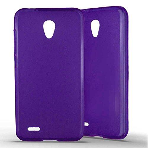 1001 Case? - Custodia per Alcatel One Touch Go Play, in silicone gel traslucido, effetto satinato