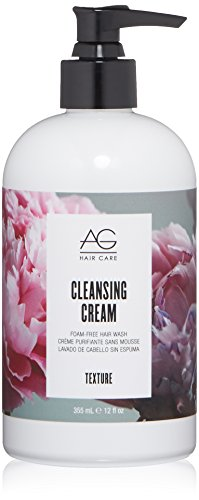 AG Hair Texture Cleansing Cream Foam-Free Hair Wash, 12 Fl Oz