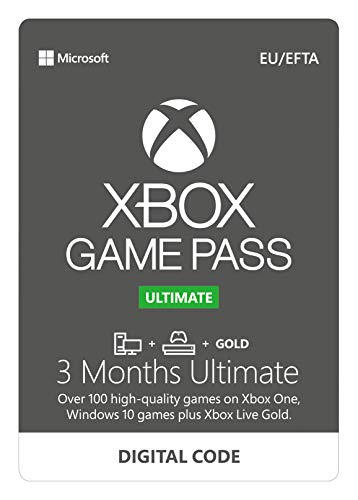 Xbox Game Pass Ultimate for Console | 3 Month Membership | Xbox One - Download Code