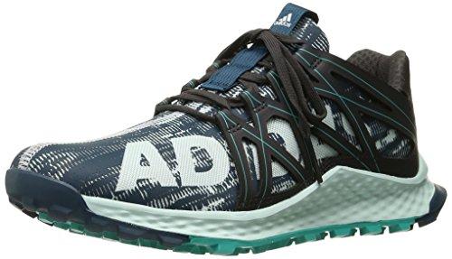 adidas Women's Vigor Bounce w Running Shoe, Utility Green F16/Ice Mint F16/Utility Black F16, 6.5 M US