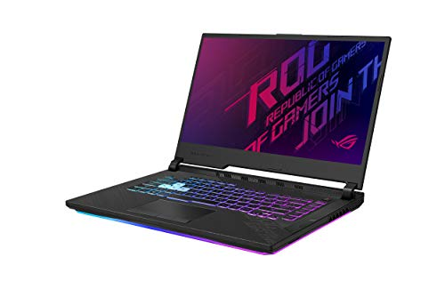 "NVIDIA GeForce RTX 2070 8GB GDDR6 with ROG Boost (Base: 1260MHz, Boost: 1455MHz, 115W) Latest 10th Gen Intel Core i7-10750H Processor 240Hz 3ms 15.6"" Full HD 1920x1080 IPS-Type Display 16GB DDR4 2933MHz RAM 
