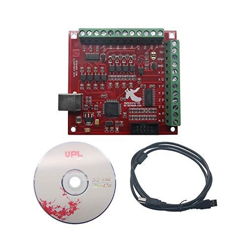 CNC USB MACH3 100 kHz Breakout Board 4-Achsen-Schnittstellentreiber Motion Controller