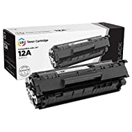 LD Compatible Toner Cartridge Replacement for HP 12A Q2612A (Black)