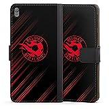 Étui Compatible avec Sony Xperia E5 Étui Folio Étui magnétique Diables Rouges Produit sous...