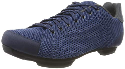 Giro Republic R Knit Road, Scarpe da Ciclismo Uomo, Multicolore (Midnight/Blue Heather 000), 38.5 EU