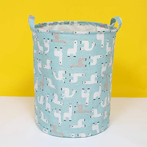 Souarts wasmand sorteerder opvouwbare waszak Laundry Baskets stof huishouden organizer mand linnen 40x50cm 1PCS