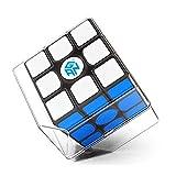 CuberSpeed GAN 356 Air SM 3x3x3 Speed Cube Black Gans 356 Air S Magnetic 3x3 Cube gan 356air S M ( New Version )