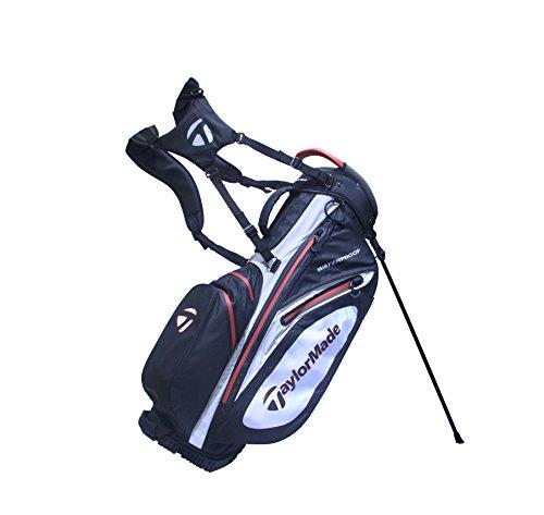 TaylorMade Waterproof Sac pour bâtons de Golf, Homme Taille Unique/Blanc/Bleu Noir