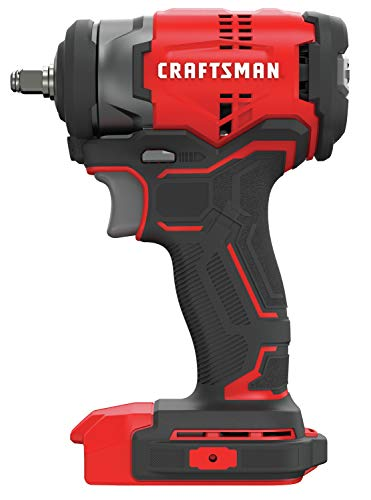 CRAFTSMAN 20V MAX Impact Wrench, Brushless, 3/8-Inch, Tool Only (CMCF910B)