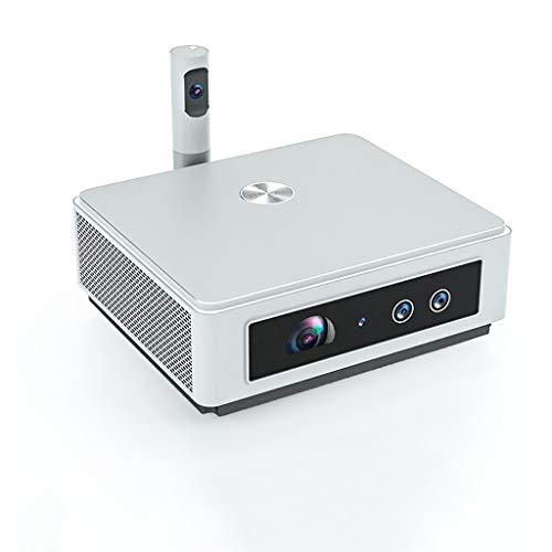 HDDFG Proyector Interactivo HT1500 Cámara Multimedia de 360 Grados de Alta Gama Compatible con Red 4G