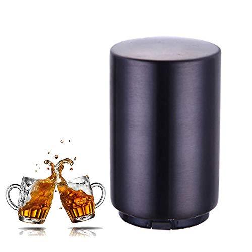 QWET Abrebotellas De Cerveza AutomáTico MagnéTico, Abridor De Tapa De Acero Inoxidable PortáTil, Se Puede Usar En Casa, Restaurante, Fiesta Y como Regalo,B