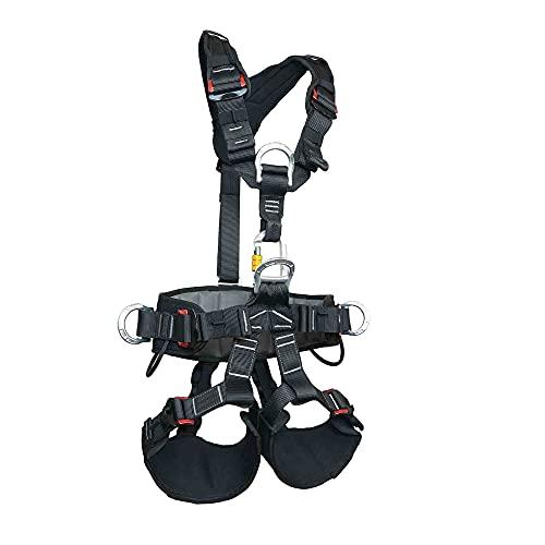 SOB Mehrzweck Klettergurt Sicherheitsgurt Entlastung Klettergurte für Operationen mit Hoher Höhe Bauarbeiter Bergsteigen Feuerrettung CE-Zertifiziert
