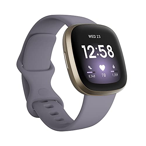Fitbit Versa 3 Health and Fitness Smartwatch with GPS, 24/7 Heart Rate,...