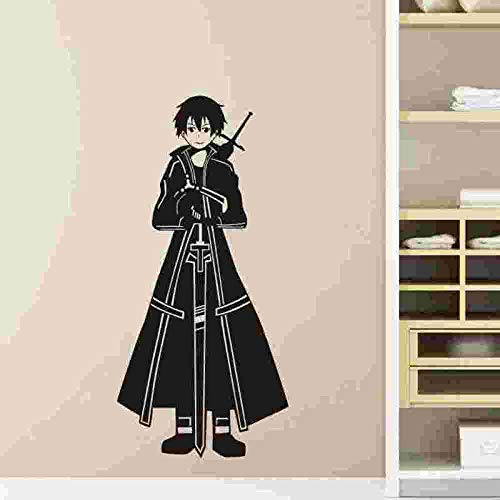 fdgdfgd Anime Cartoon Spiel Charakter Ritter Wandtattoo Vinyl Wandtattoo Dekoration Home Decoration Wandaufkleber