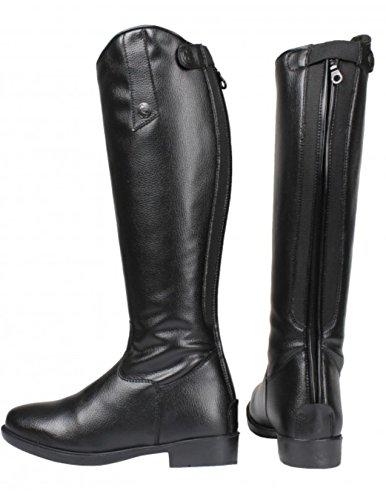 Botas de equitación Riley serreta franco térmico negro Talla:Größe 42 (Weite 41 cm / Höhe 48 cm)