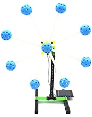 YeahiBaby Rueda de Ferris de la Energía Solar Divertida DIY Modelo en Miniatura Kit de Juguetes educativos para Niños (Azul)