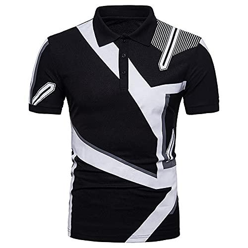 Camisa Polo Hombres Transpirable Deportes De Ocio Golf Béisbol Camisa Henry Hombres Autocultivo Verano...