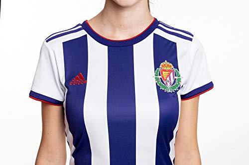 Camiseta oficial 1ª equipación del Real Valladolid C.F. Temporada 2019/20, Mujer, Talla L