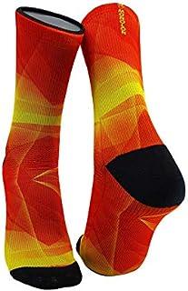 Monolon, Calcetines técnicos divertidos y originales para ciclismo, running o cualquier deporte, mod. Spain