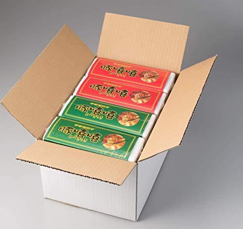 フタバ食品 お土産用餃子 20個入り肉餃子360g×2、20個入り野菜餃子360g×2箱