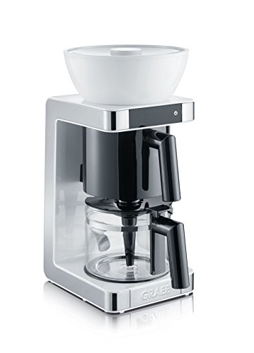 Graef FK701EU Filterkaffeemaschine, Plastik, Weiß