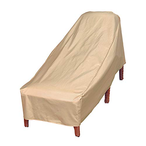 Modern Leisure 7648A Patio Chaise Lounge Chair Cover