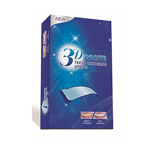 LYWIR Tiras Blanqueadoras Blanqueamiento Dental Teeth Whitening Strips Quitar Manchas De Café, Té Y Tabaco