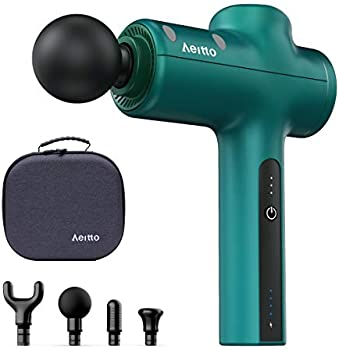 Aeitto Deep Tissue Percussion Massage Gun With 4 Massage Head