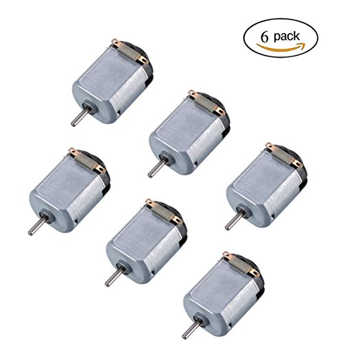 Amazon.co.uk - 6pcs 130 Small DC Motor 3-5V