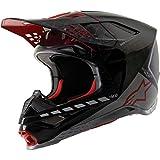 Alpinestars 8302420-1999-S Unisex-Adult S-M10 San Diego 2020 Le Helmet Black/Silver/Red Sm (Multi, one_size)