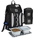 Mobile Dog Gear, Dog Travel Bag, Drop Bottom Week Away Backpack for Medium and...