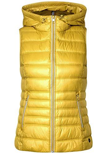 Cecil Damen Sportive Stepp-Weste Amber Glow Gold M