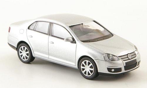 VW Jetta V, silber, 2005, Modellauto, Fertigmodell, Wiking 1:87
