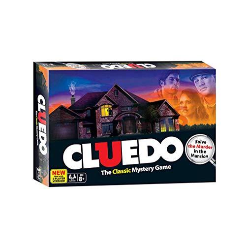 Cluedo Board Juego The Classic Mystery Juego Card para Adultos Juego Family Party Detective Game Exploration Razoning Entretenimiento Juguetes Estrategia De Ocio