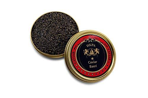 Kaviar Royal Baerii (Acipenser Baerii) - Sibirischer Kaviar - 24-Stunden Expresslieferung - (125 GR)