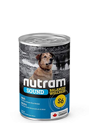 Nutram Dog Adult Cans 12x369gm