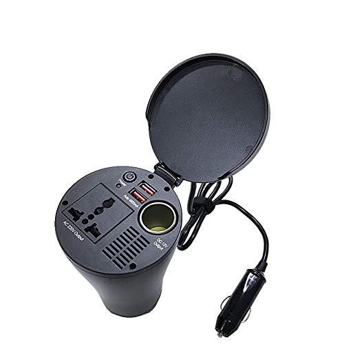 JYL 150W Power Inverter met 2 USB-poorten DC 12V tot 220V AC Inverter met universele AC stekkerdoos lader voor auto laptop camera