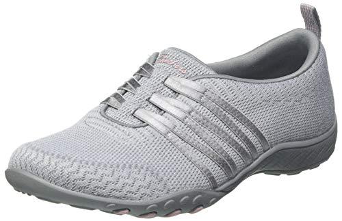 Skechers Breathe-Easy Approachable, Zapatillas Mujer, Gry, 36.5 EU