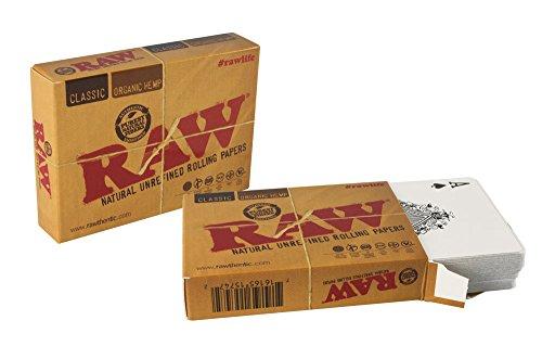 RAW - Juego de Cartas, diseño de Papel de Fumar