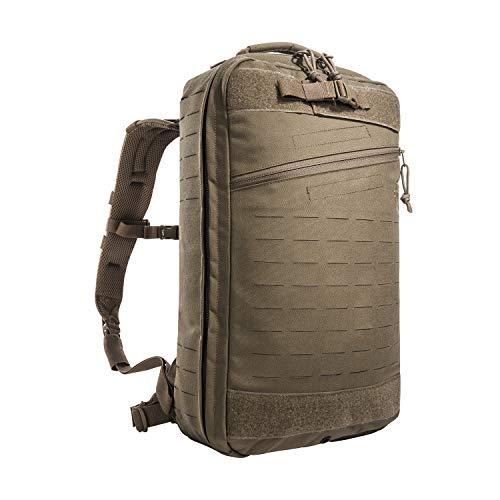 Tasmanian Tiger TT Medic Assault Pack MKII L Sac à dos de premiers secours vide pour les urgences, les voyages, le camping, la randonnée, le cyclisme, l'extérieur (marron oyote)