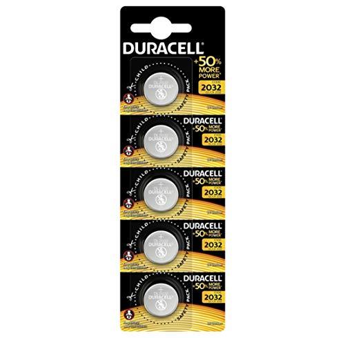 Duracell Specialty 2032 + 50% more power - Blister da 5 batterie al litio CR2032