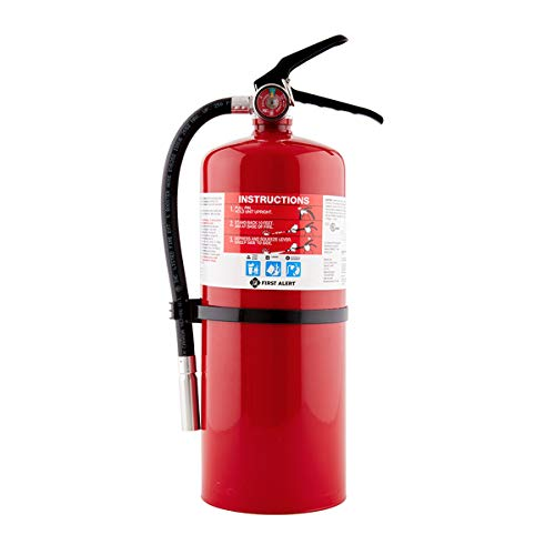 First Alert Fire Extinguisher | Professional Fire Extinguisher, Red, 10 lb, PRO10