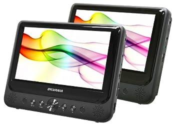 Sylvania Dual Screen Portable DVD Players  9-inch